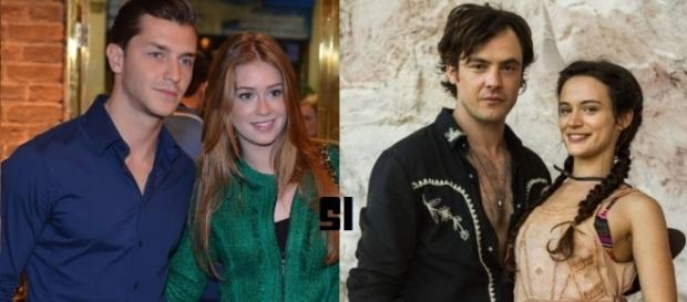 Sergio Guizé e Bianca Bin agora formam um casal na vida real e na ficção