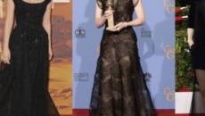 Famosas de Hollywood protestam indo de preto ao 'Globo de Ouro'