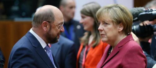 Allemagne : Martin Schulz, une menace pour Angela Merkel - Libération - liberation.fr