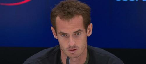 Andy Murray during a press conference at 2017 US Open/ Photo: screenshot via US Open Tennis Championships channel on YouTube