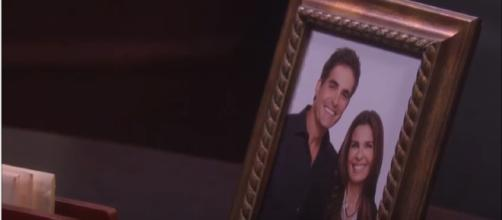 Days of our Lives Hope and Rafe. (Image Credit: NBC/YouTube screengrab)
