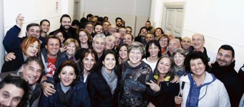 Di Pillo festeggia con Raggi la vittoria del M5S ad Ostia