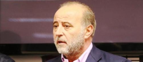 Fedele Sannella, patron del Foggia Calcio assieme al fratello Franco