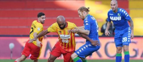 Il Benevento ha incassato la tredicesima sconfitta di fila con il Sassuolo