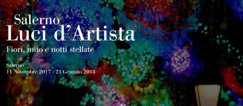 Luci d'Artista di Salerno 2017. Mappa luci e eventi