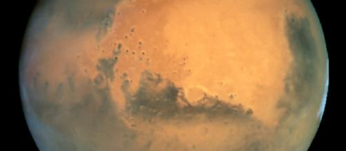 Mars from the Hubble Space Telescope [image: NASA]