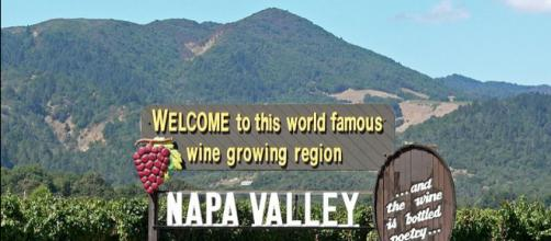 Napa Valley welcome sign (Image credit – Stan Shebs, Wikimedia Commons)