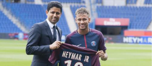 Quand Neymar a rejoins le Paris Saint Germain