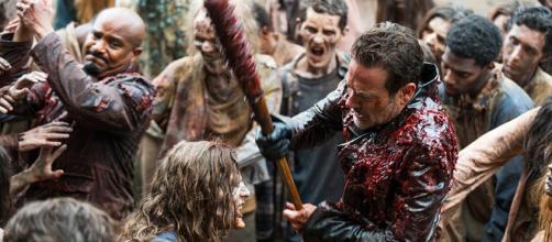 The Walking Dead 8x05, Negan si confessa
