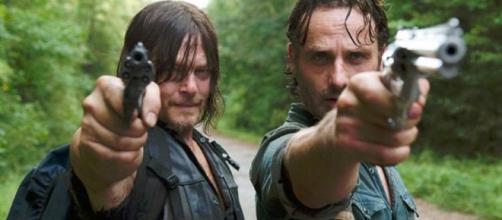 """The Walking Dead"""", saison 8 : vers une rupture entre Rick et Daryl ? - rtl.fr"""