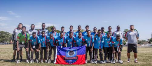 Time Pérolas Negras foi fundando no Haiti pela ONG Viva Rio