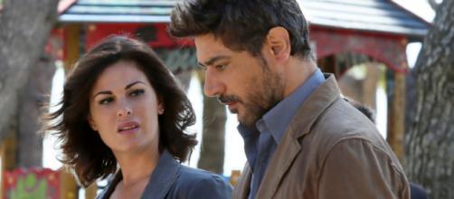 Vanessa Incontrada e Giuseppe Zeno.