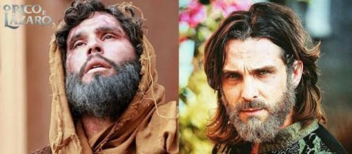 Zac e Asher se reencontram, já velhos, após a morte de Joana em 'O Rico e Lázaro'