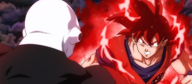 Goku aprende nuevas habilidades