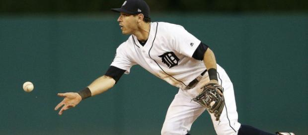 Ian Kinsler is in demand. Will the Tigers deal him away soon? [Image via Mlive YouTube]