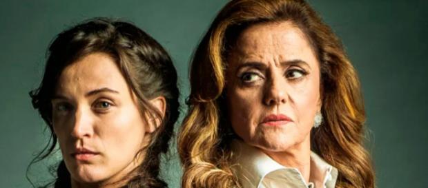 Imagem: Clara e Sophia em 'O Outro Lado do Paraíso'