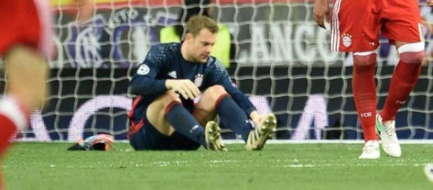 Manuel Neuer erlitt diese Saison einen Mittelfußbruch (Quelle: traunsteiner-tagblatt.de)