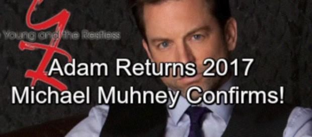Michael Muhney has not returned to Genoa City (Image via iphotoexpert66 youtube).