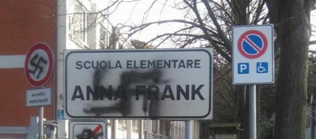 Scuola elementare e media Anna Frank in strada della Pozzetta a Santa Maria delle Fabbrecce, Pesaro