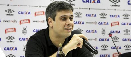 Eurico Brandão, o Euriquinho, vice-presidente do Vasco da Gama