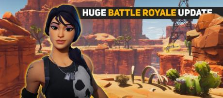 """""""Fortnite"""" Battle Royale is getting yet another huge update. Image Credit: Own work"""