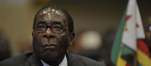 Ex-president Robert Mugabe [Image source: Spec2 Jesse B Awalt, US Navy]