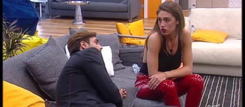 Gf Vip, Francesco Monte contro Cecilia