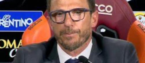 Juventus, possibile uno scambio con la Roma (nella foto il tecnico Di Francesco)