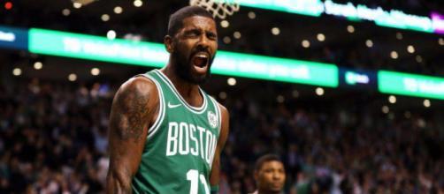 Kyrie Irving 25 anni, alla sua prima stagione con i Boston Celtics