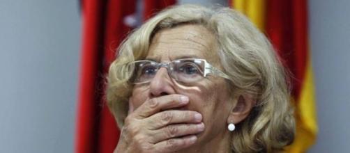 Manuela Carmena muy preocupada