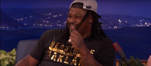 Marshawn Lynch impressed a Hall of Famer for his dedication to protest -- Team Coco via YouTube