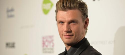 Nick Carter. Evento Photocall de traje