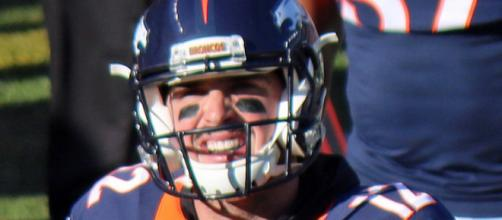 Paxton Lynch started two games last season for Broncos (Image Credit: Jeffrey Beall/WikiCommons)