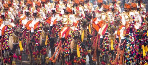 Republic Day Parade, India [image source: obamawhitehouse.archives.gov ]