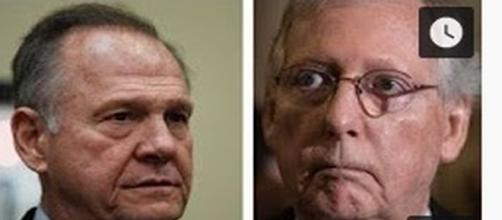 Roy Moore and Mitch McConnell [Media Image: Fox News/YouTube]