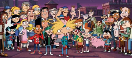 The cast of characters on 'Hey Arnold!'; ( Image via Nickelodeon, used with permission.)