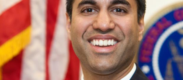 Ajit Pai, chairman FCC photo public domain from Federal Communications Dept. via Wikimedia Commons