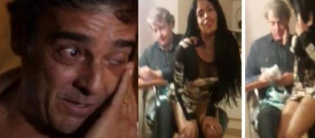 O ator Alexandre Borges está casado