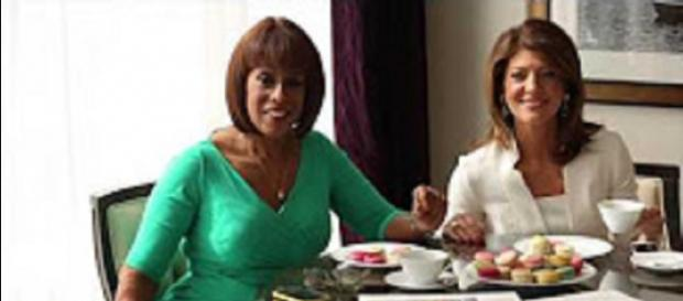 Gayle King and Norah O'Donnell speak with courage and truth regarding Charlie Rose;s sexual misconduct charges. Gotham Magazine screencap/YouTube