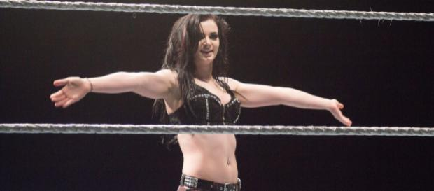 Paige's return to RAW also included the debuts of Mandy Rose & Sonya Deville - [Photo via Anton/ Flickr]