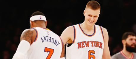 Kristaps Porzingis Making New York Forget Melo - Hardwood and ... - hardwoodandhollywood.com