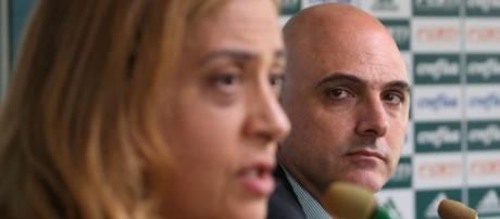 Maurício Galiotte e Leila Pereira