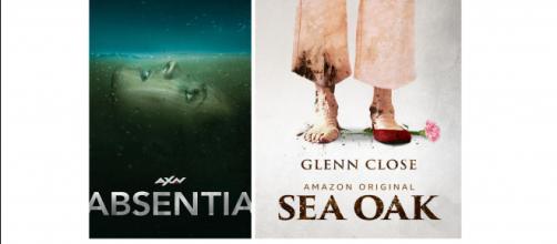 Affiches Absentia et Sea Oak saison 1