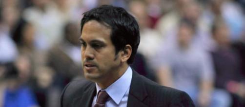 Miami Heat coach Erik Spoelstra frustrated with team Erik Spoelstra - Keith Allison via Flickr
