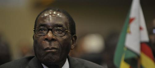 Former Zimbabwe president Robert Mugabe...(Image Credit: Defenselmagery/Youtube screencap)