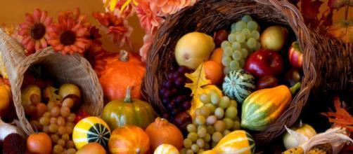 Típicas verduras de thanksgiving estadounidense