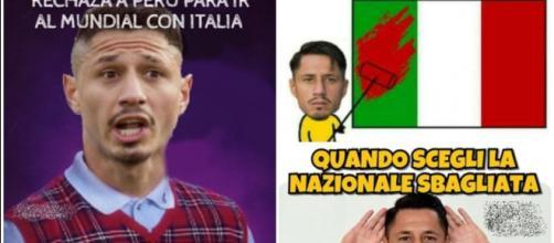 I tifosi del Perù hanno sbeffeggiato Lapadula ma il ct gli ha riproposto la maglia della selezione bicolore