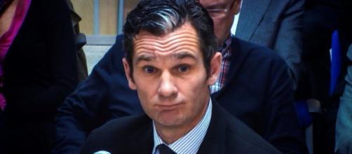 Iñaki Urdangarín durante el juicio