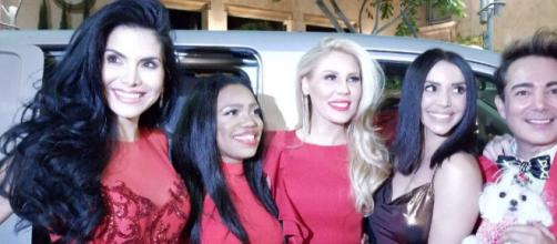 Joyce Giraud, Gretchen Rossi, and Scheana Marie support Puerto Rico. [Image via Twitter]