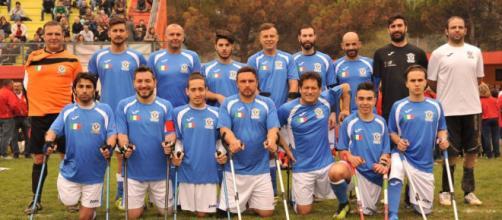 La Nazionale Italiana di calcio amputati è qualificata per i Mondiali 2018 che si terranno in Messico